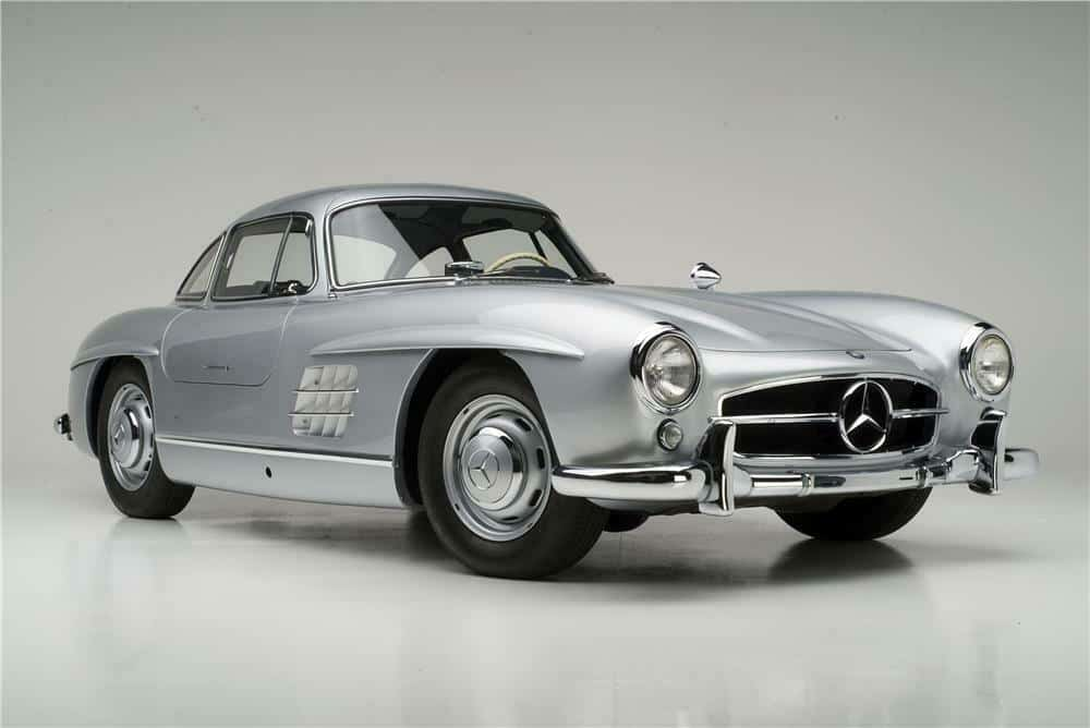 1955 Mercedes 300 SL Gullwing Coupe