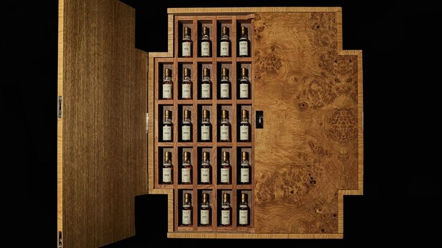most valuable whisky collection