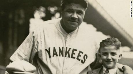 Rare Babe Ruth jersey