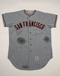 Willie Mays Autographed Game Worn Jersey Offered on Rally Rd