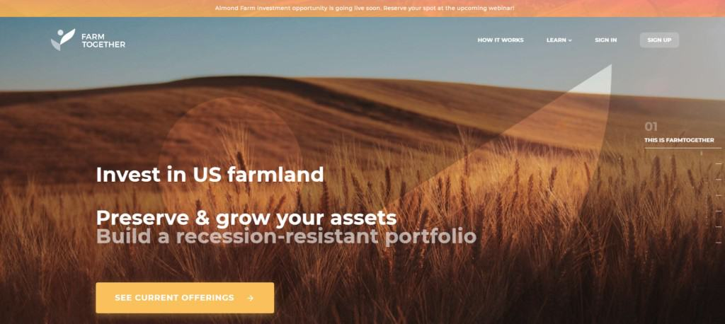 Invest in Farmland with Farm Together