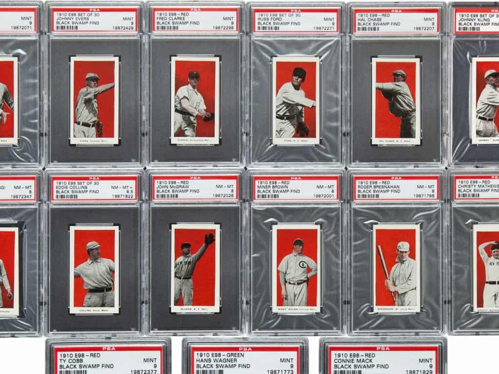 1910 Baseball Card Series
