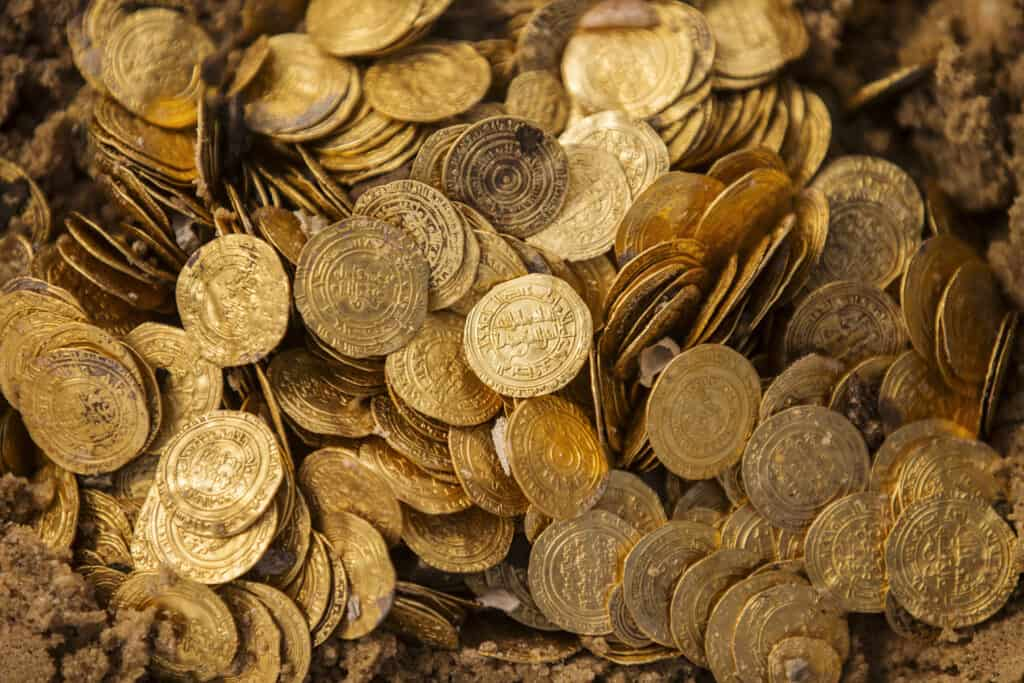 The Caesarea Sunken Treasure