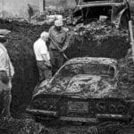 Ferrari Dino 246 GTS Found Buried