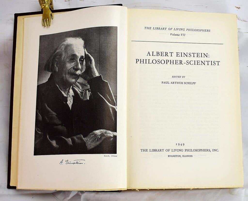 Albert Einstein Philosopher Scientist