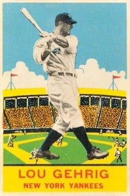 1933 DeLong Lou Gehrig