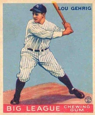1933 Lou Gehrig