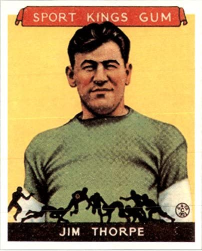 1933 Sport Kings Jim Thorpe Football Cards