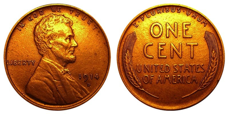 1914 D Wheat Penny