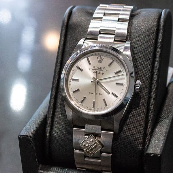 domino's rolex air king