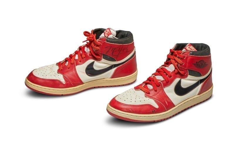 Air Jordan Nike Game Worn Auction