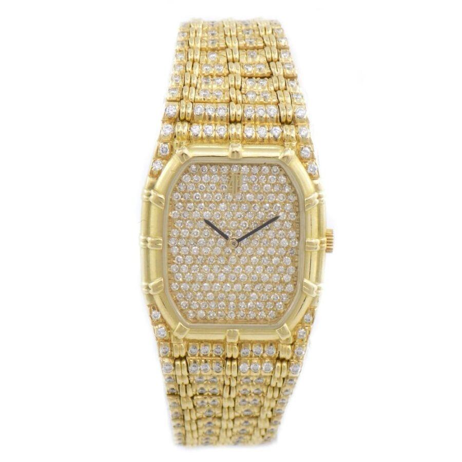vintage A.P. bamboo diamonds