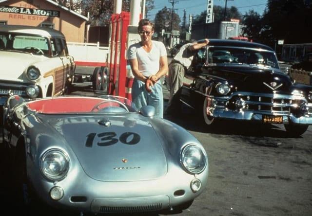 Porsche Spyder James Dean