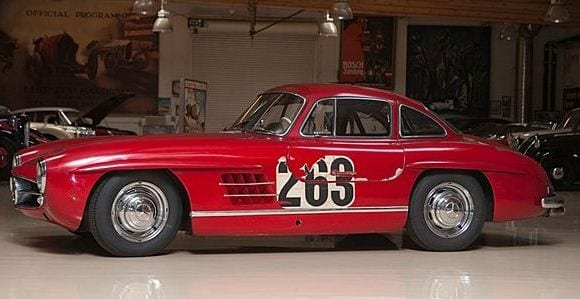 1955 Mercedes Benz 300SL Gullwing Coupe Jay Leno