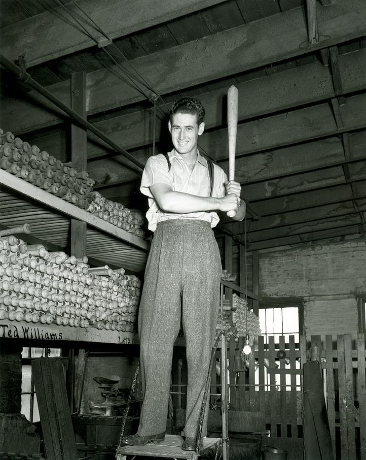 Louisville Slugger wood bats