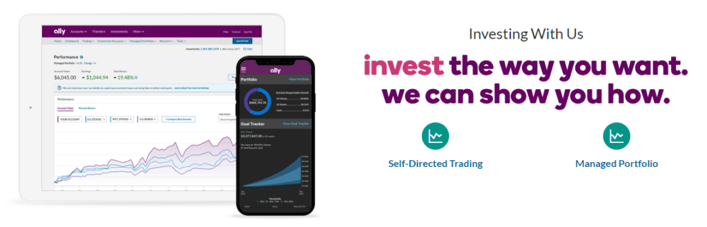 ally fractional share investing