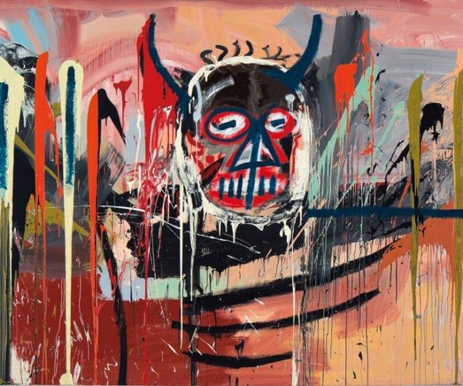 Basquiat Skull