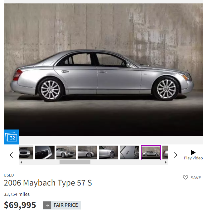 maybach price