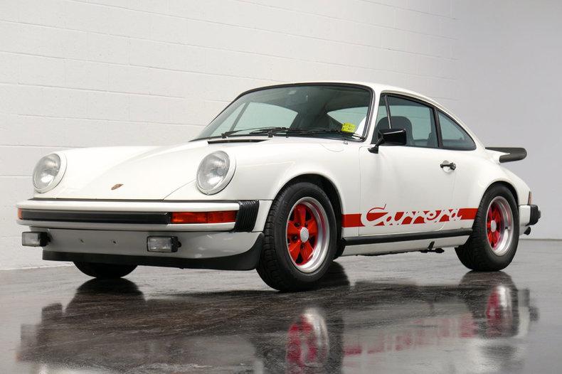1975 Porsche 911 Turbo Carrera.