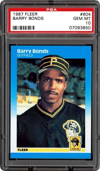 Barry Bonds Rookie Cards Value