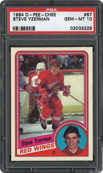 Steve Yzerman Rookie Cards