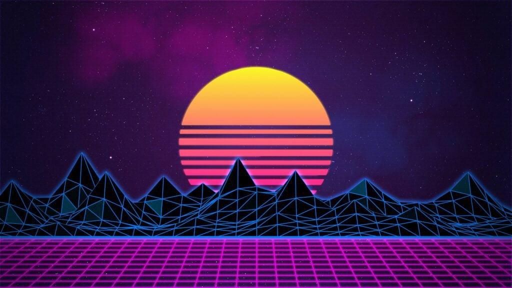 80s art style