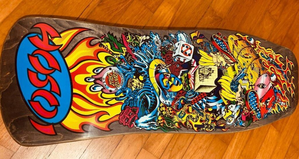 skateboard collecting