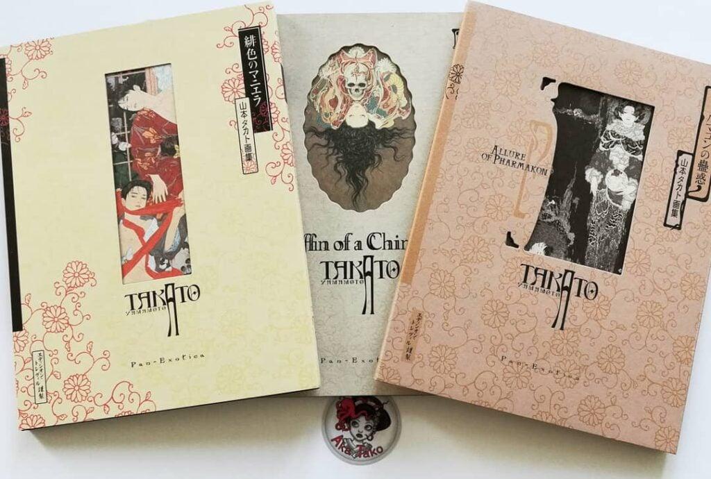 takato yamamoto books