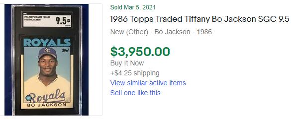 1986 topps bo jackson