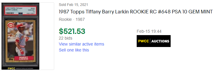 1987 barry larkin
