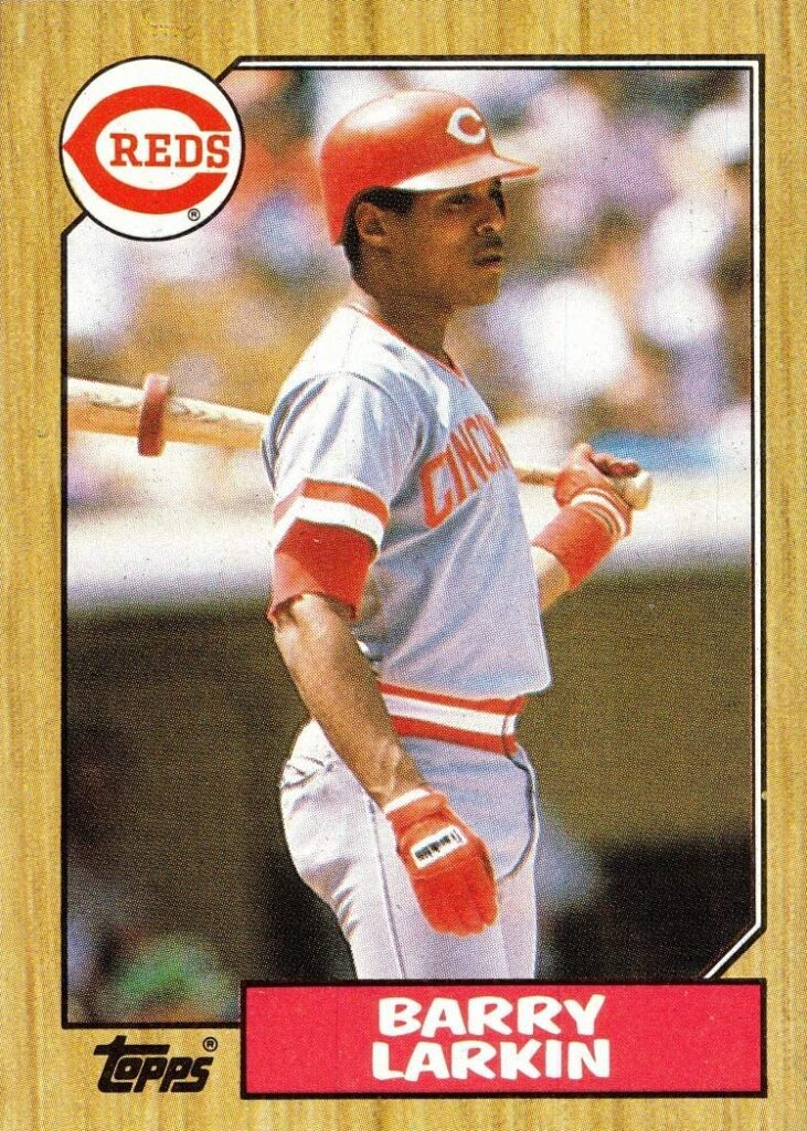 1987 Topps Barry Larkin