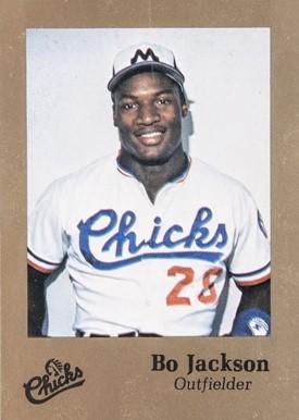 1986 Memphis Chicks Bo Jackson Rookie Card