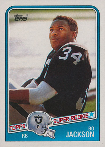 1988 Bo Jackson Topps Football